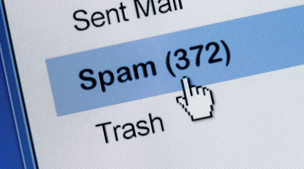 Spammers exploiting legitimate company websites